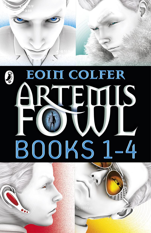 Artemis Fowl: Books 1-4 - Jacket