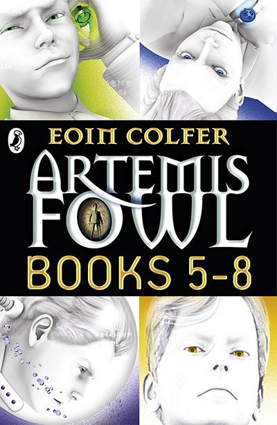 Artemis Fowl: Books 5-8 - Jacket