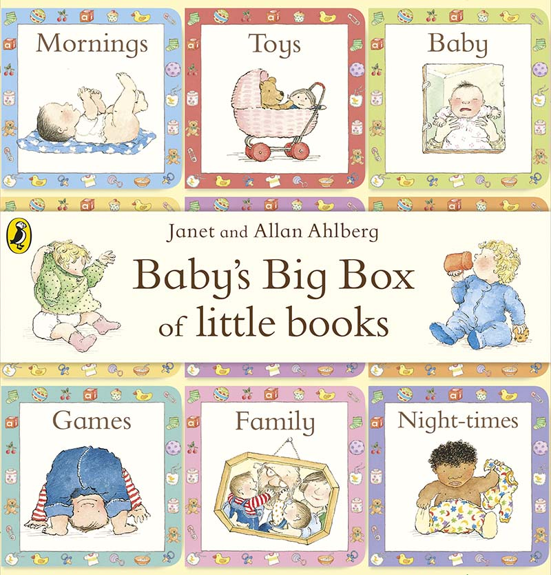 Baby's Big Box of Little Books - Jacket