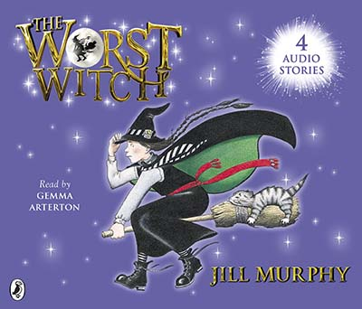 The Worst Witch; The Worst Strikes Again; A Bad Spell for the Worst Witch and The Worst Witch All at Sea - Jacket