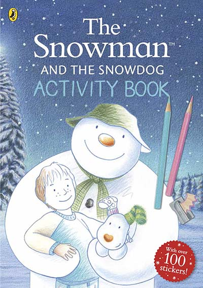The Snowman and The Snowdog Activity Book - Jacket