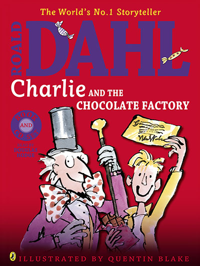 Charlie and the Chocolate Factory (Colour book and CD) - Jacket