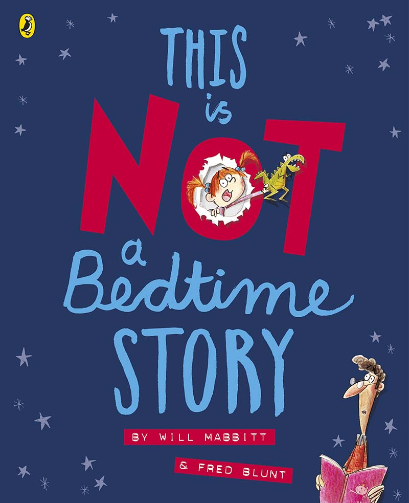 This Is Not A Bedtime Story - Jacket