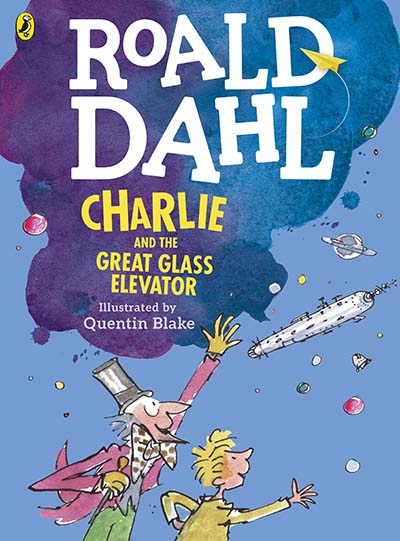 Charlie and the Great Glass Elevator (colour edition) - Jacket