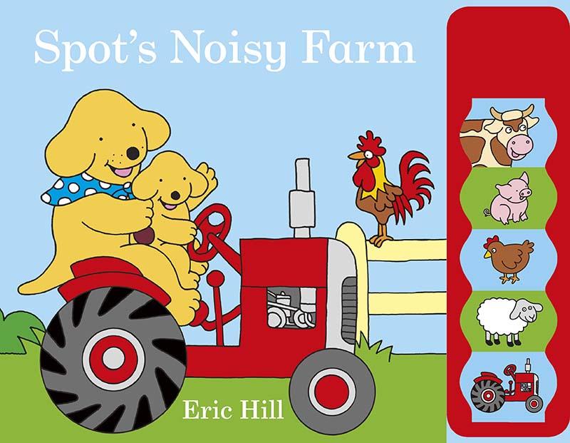 Spot's Noisy Farm - Jacket