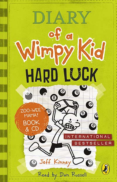 Diary of a Wimpy Kid: Hard Luck book & CD - Jacket