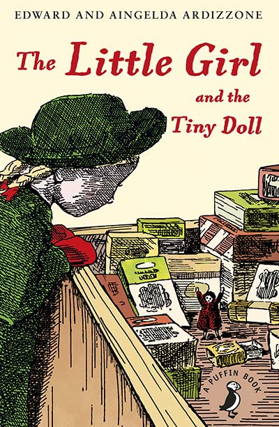 The Little Girl and the Tiny Doll - Jacket