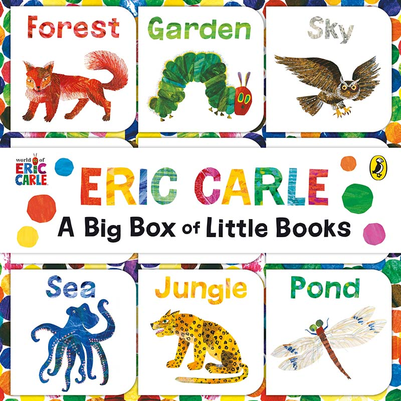 The World of Eric Carle: Big Box of Little Books - Jacket