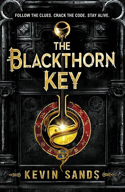 The Blackthorn Key - Jacket