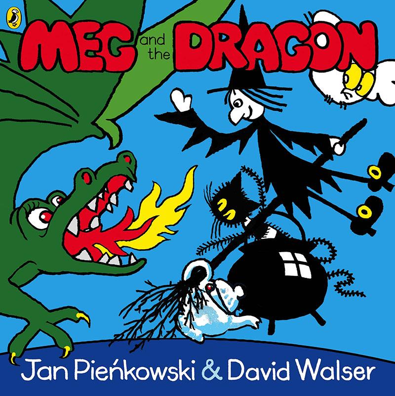 Meg and the Dragon - Jacket