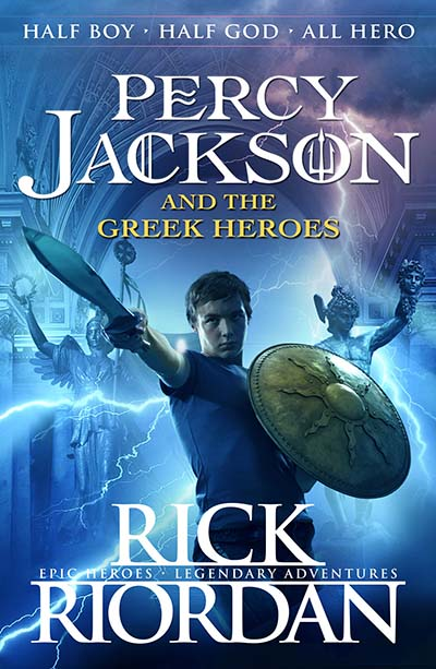 Percy Jackson and the Greek Heroes - Jacket