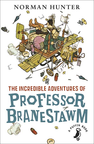 The Incredible Adventures of Professor Branestawm - Jacket