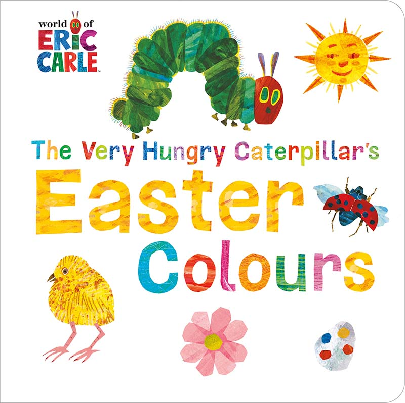 The Very Hungry Caterpillar's Easter Colours - Jacket