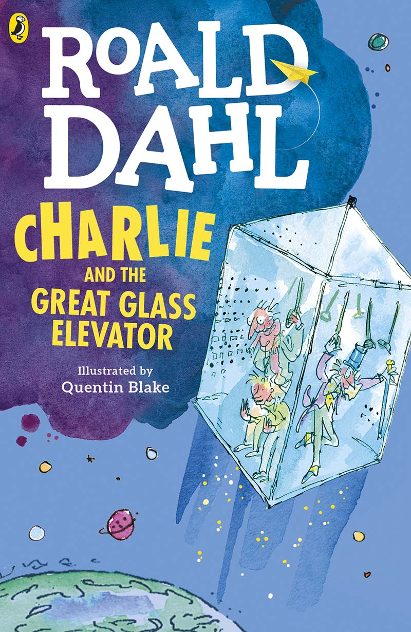 Charlie and the Great Glass Elevator - Jacket