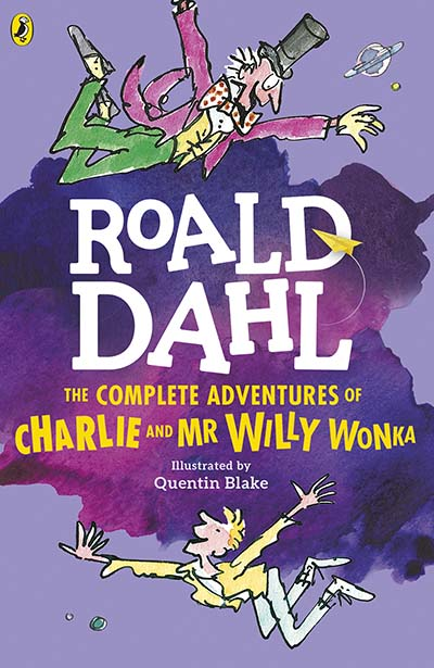 The Complete Adventures of Charlie and Mr Willy Wonka - Jacket