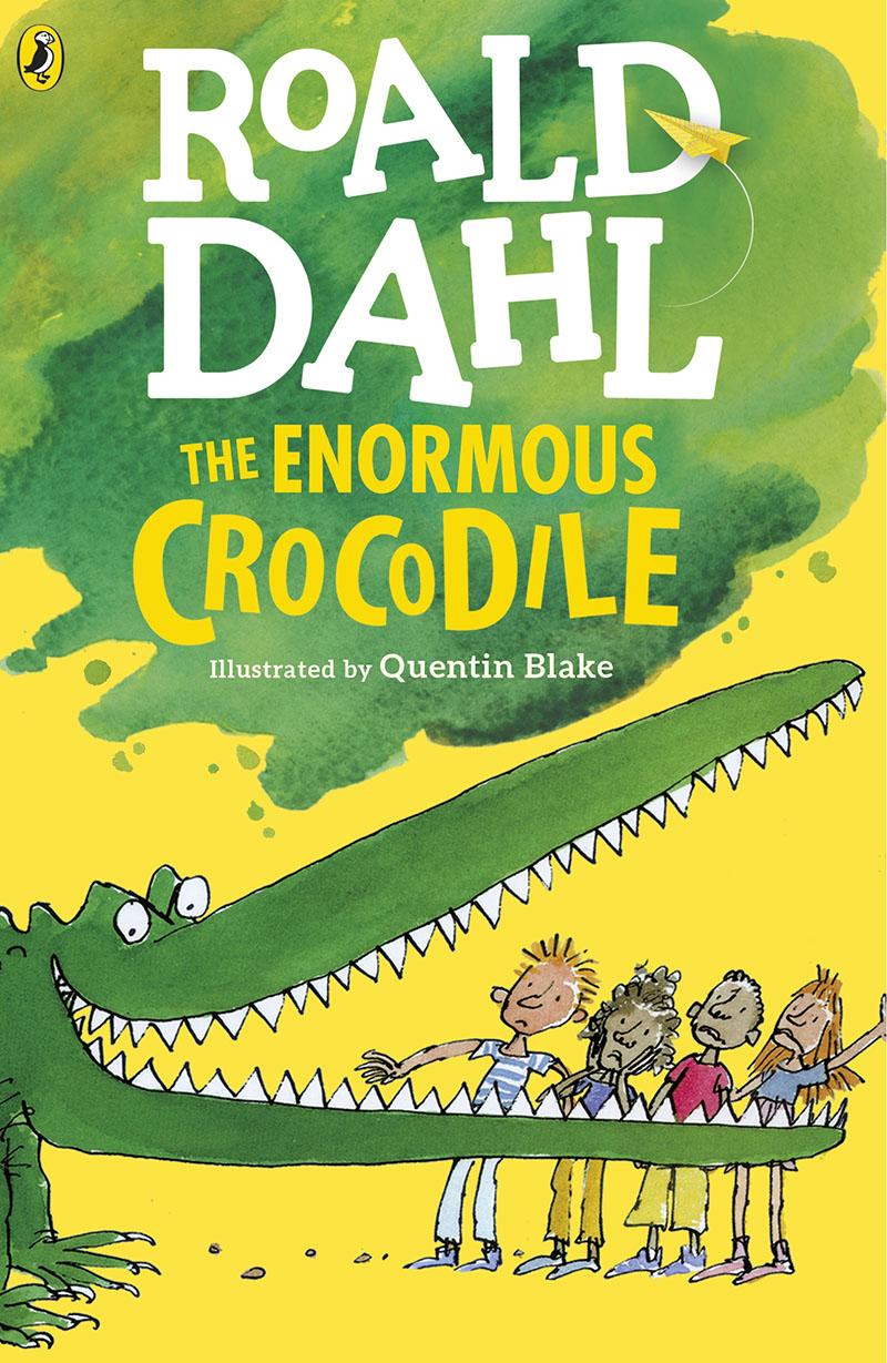 The Enormous Crocodile - Jacket