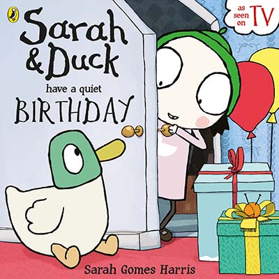 Sarah and Duck have a Quiet Birthday - Jacket