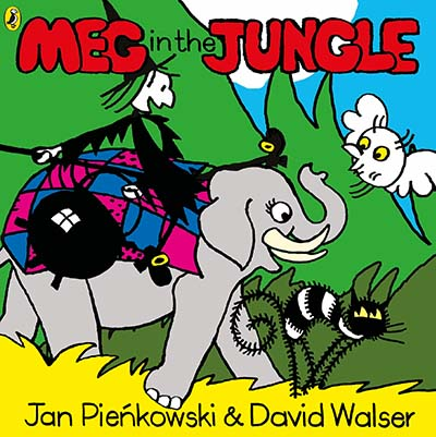 Meg in the Jungle - Jacket