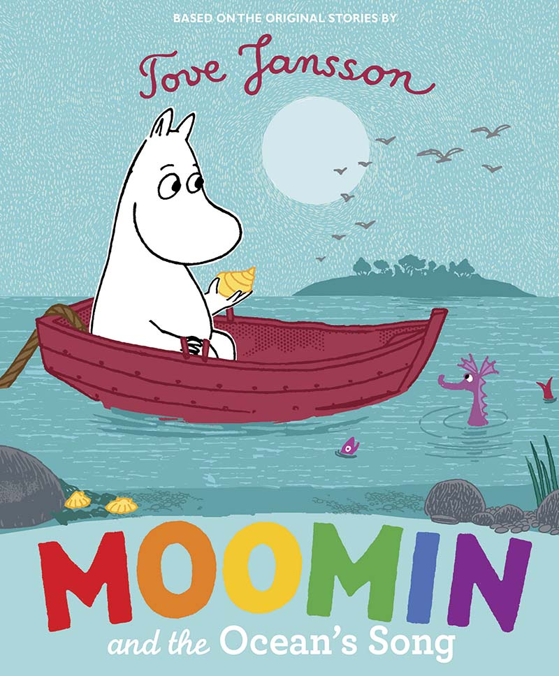 Moomin and the Ocean's Song - Jacket