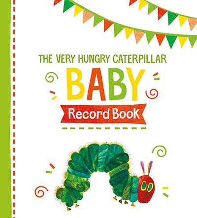 The Very Hungry Caterpillar Baby Record Book - Jacket