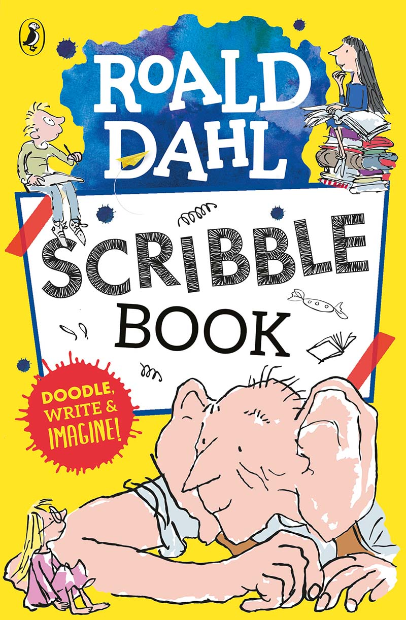 Roald Dahl Scribble Book - Jacket