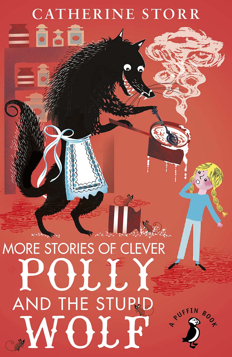 More Stories of Clever Polly and the Stupid Wolf - Jacket