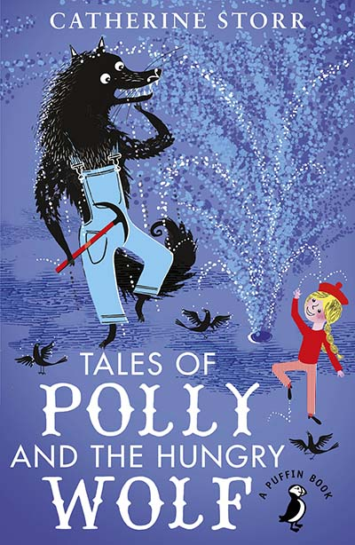 Tales of Polly and the Hungry Wolf - Jacket