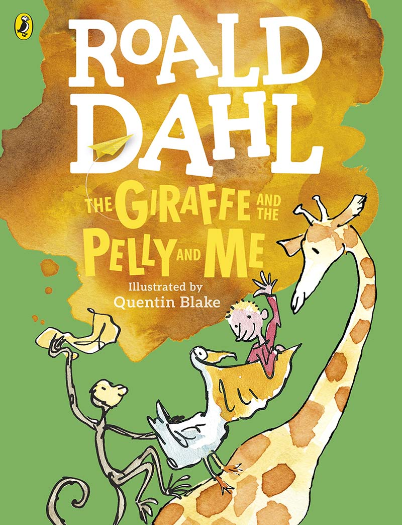 The Giraffe and the Pelly and Me (Colour Edition) - Jacket