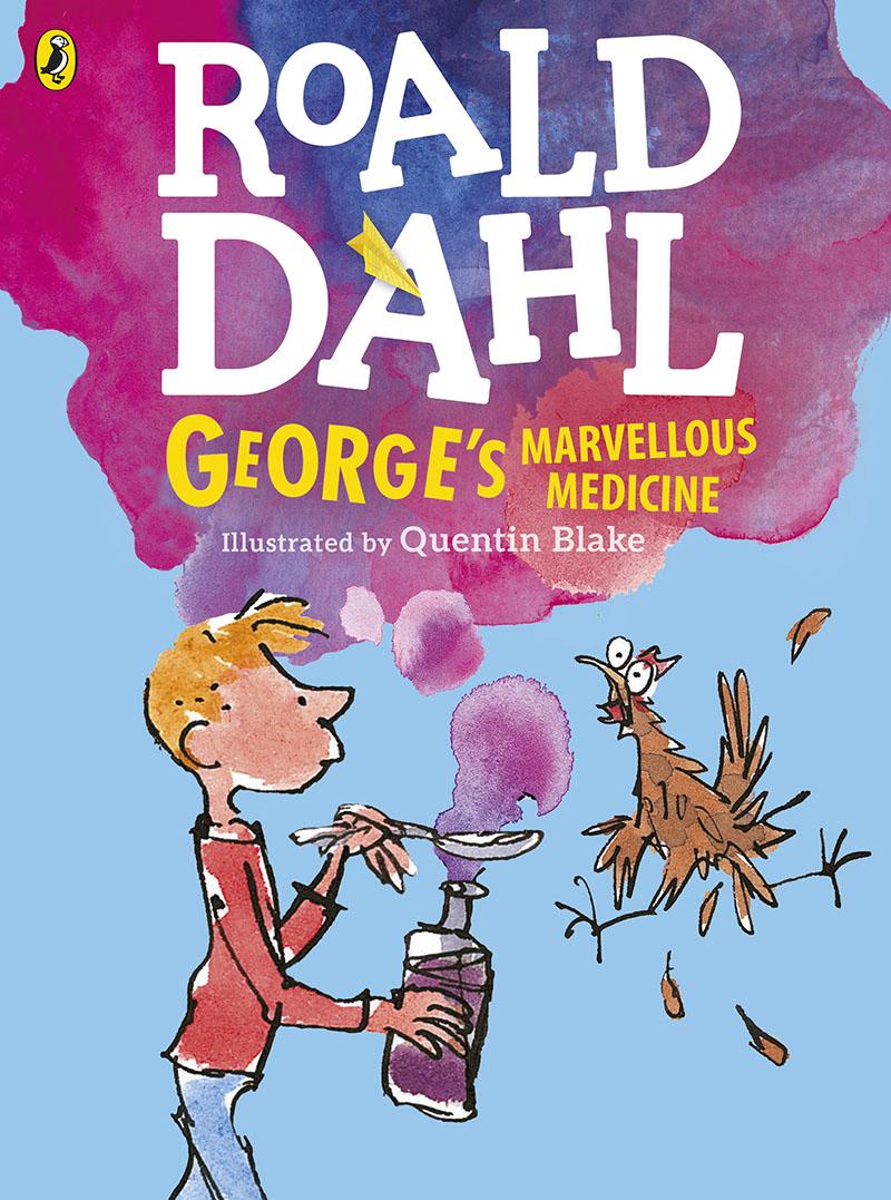 George's Marvellous Medicine (Colour Edn) - Jacket