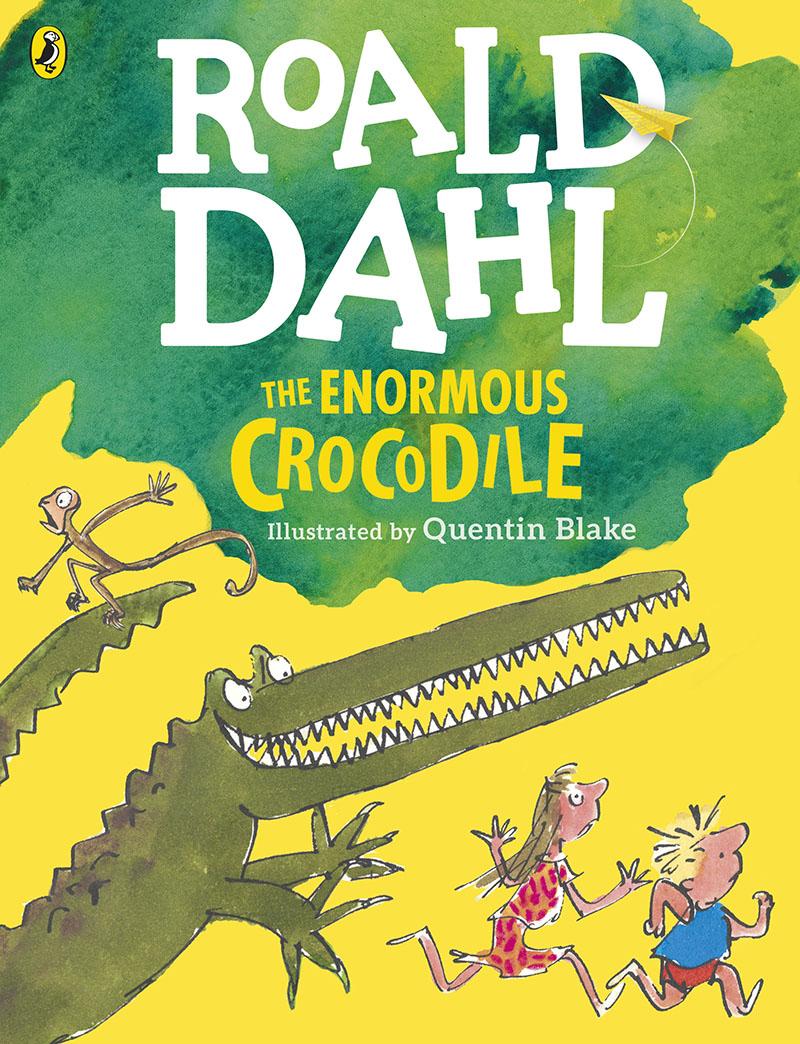The Enormous Crocodile (Colour Edition) - Jacket