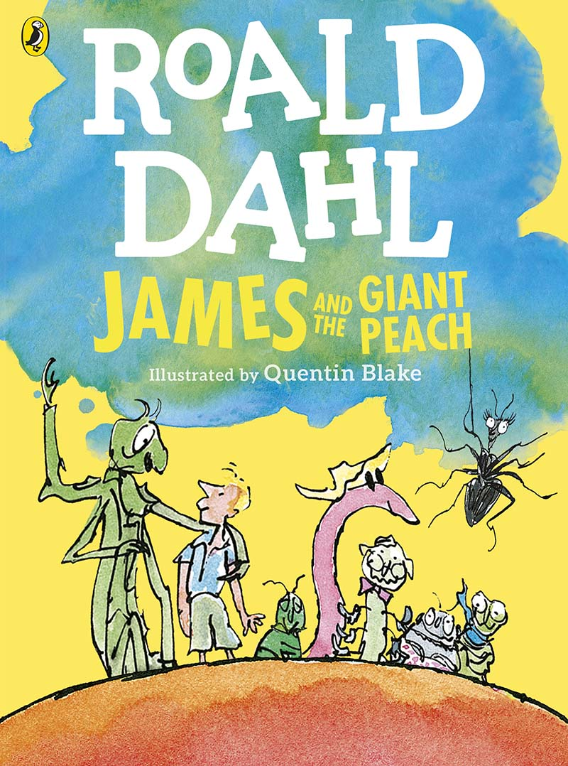 James and the Giant Peach (Colour Edition) - Jacket