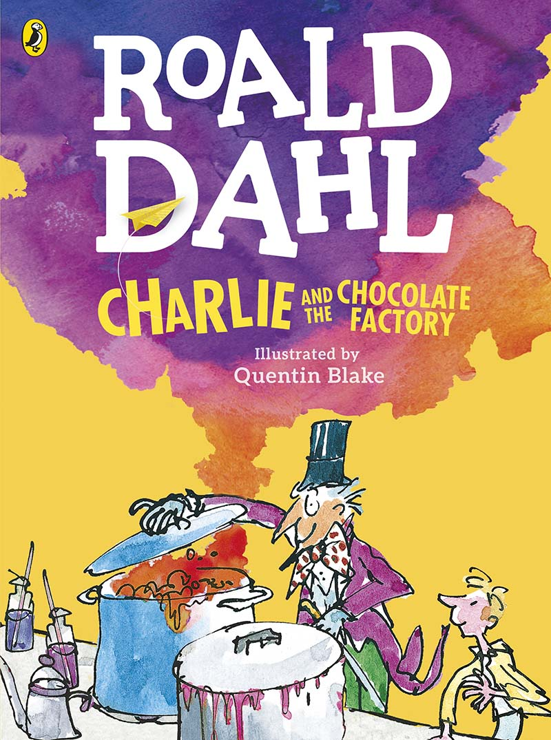 Charlie and the Chocolate Factory (Colour Edition) - Jacket