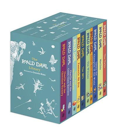 The Roald Dahl Centenary Boxed Set - Jacket