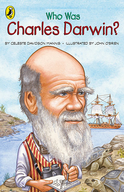 Who Was Charles Darwin? - Jacket