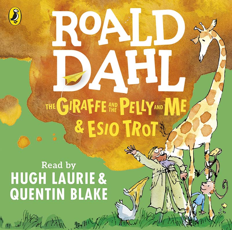 The Giraffe and the Pelly and Me & Esio Trot - Jacket