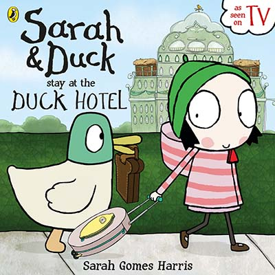 Sarah and Duck Stay at the Duck Hotel - Jacket