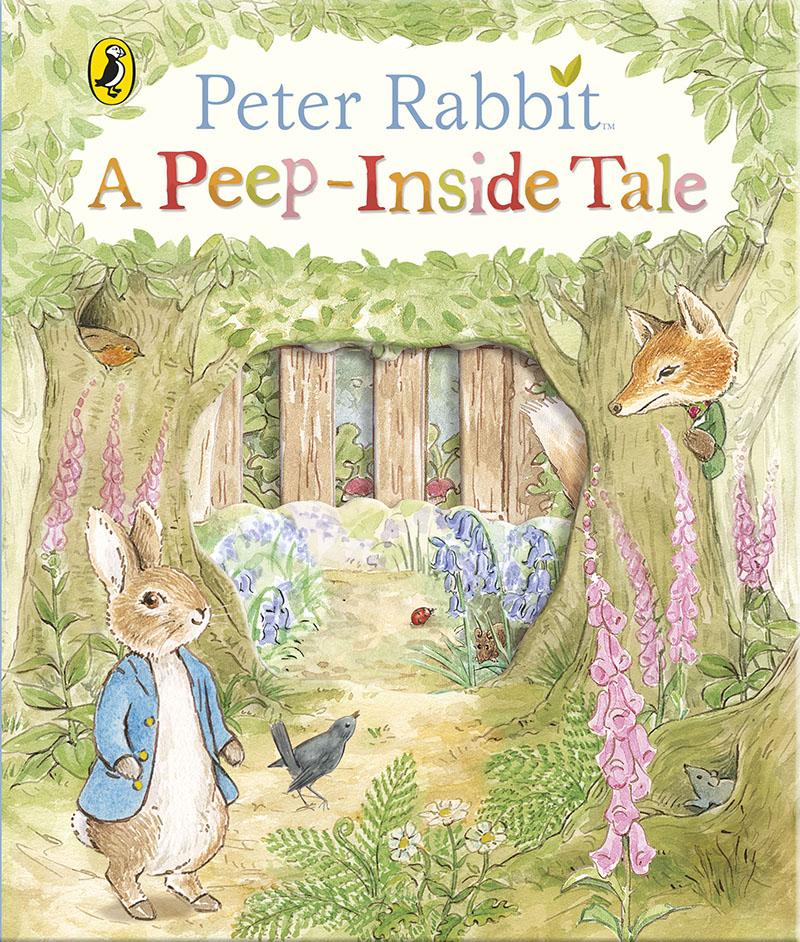 Peter Rabbit: A Peep-Inside Tale - Jacket