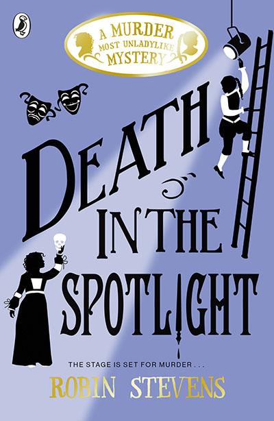 Death in the Spotlight - Jacket