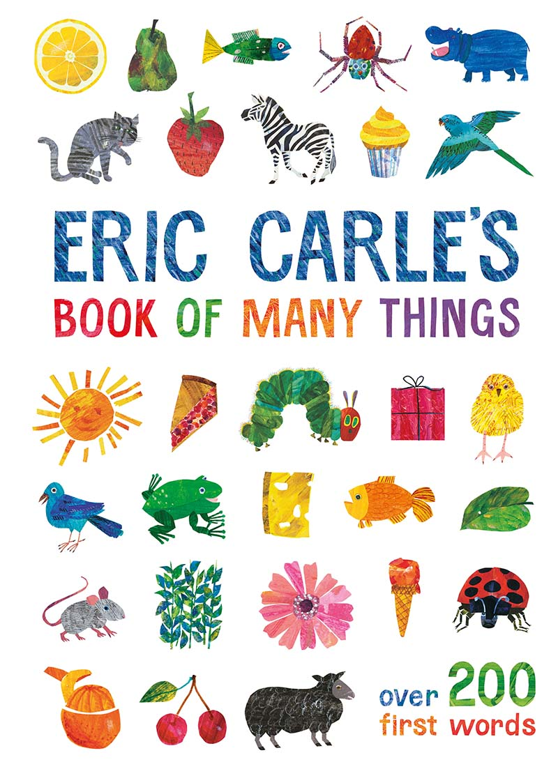 Eric Carle's Book of Many Things - Jacket