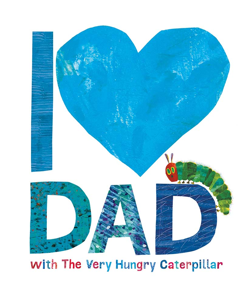I Love Dad with the Very Hungry Caterpillar - Jacket