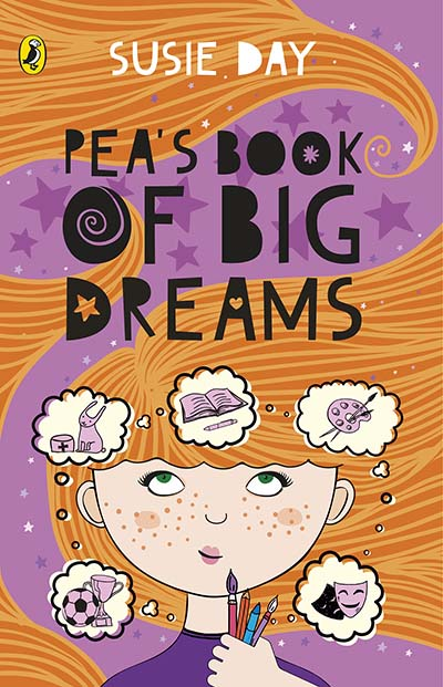 Pea's Book of Big Dreams - Jacket