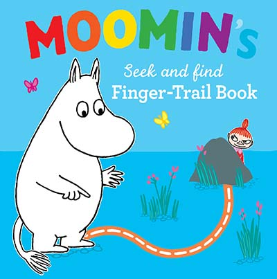 Moomin's Seek and Find Finger-Trail book - Jacket