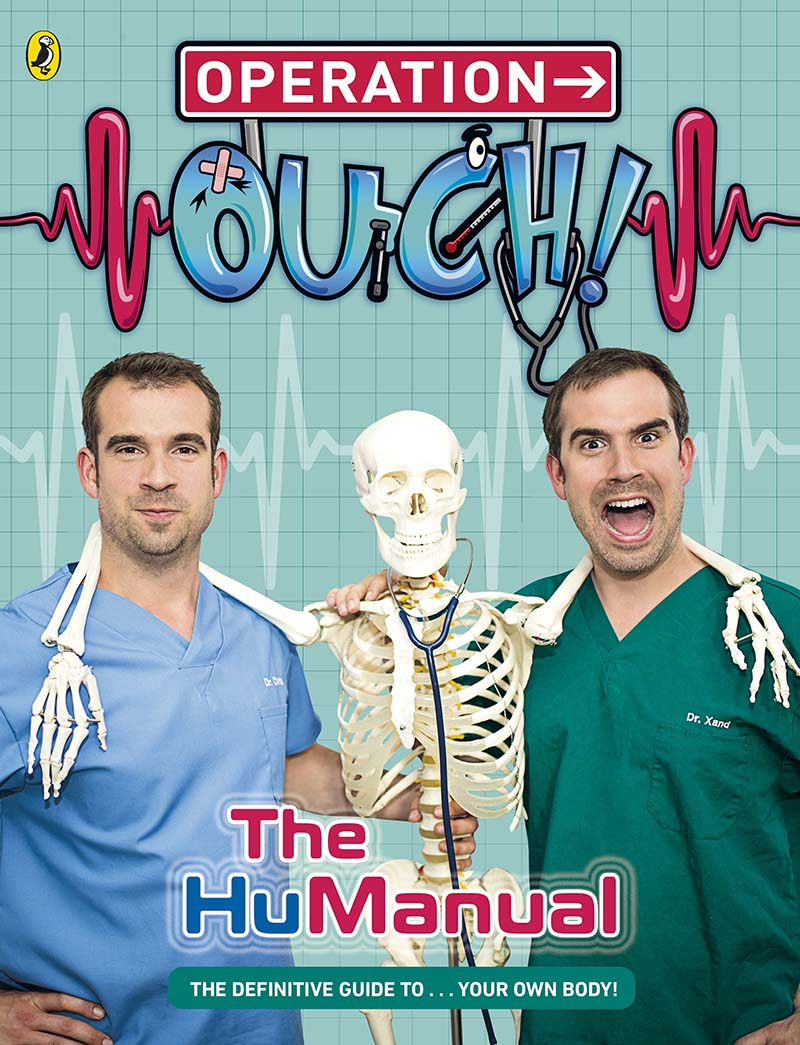 Operation Ouch!: The HuManual - Jacket