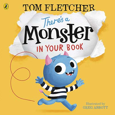 There's a Monster in Your Book - Jacket