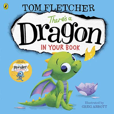 There's a Dragon in Your Book - Jacket