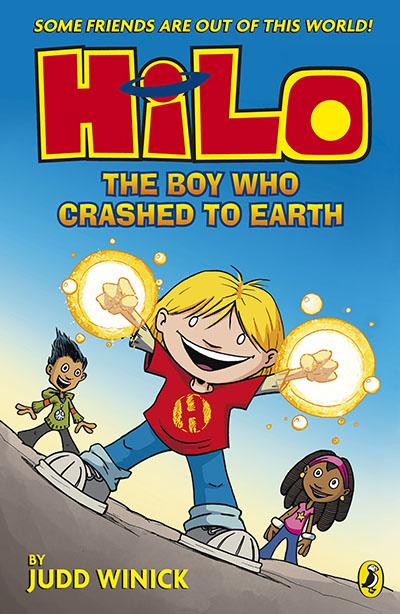Hilo: The Boy Who Crashed to Earth (Hilo Book 1) - Jacket