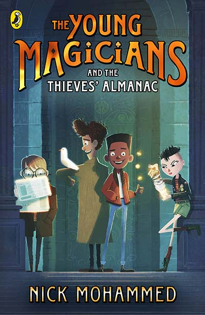 The Young Magicians and The Thieves' Almanac - Jacket