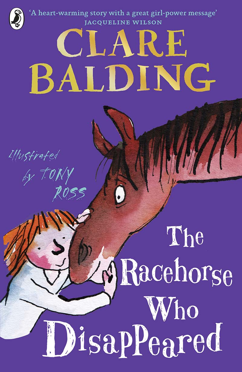 The Racehorse Who Disappeared - Jacket