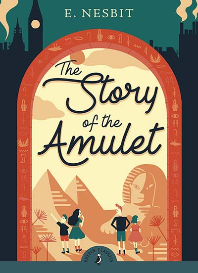 The Story of the Amulet - Jacket