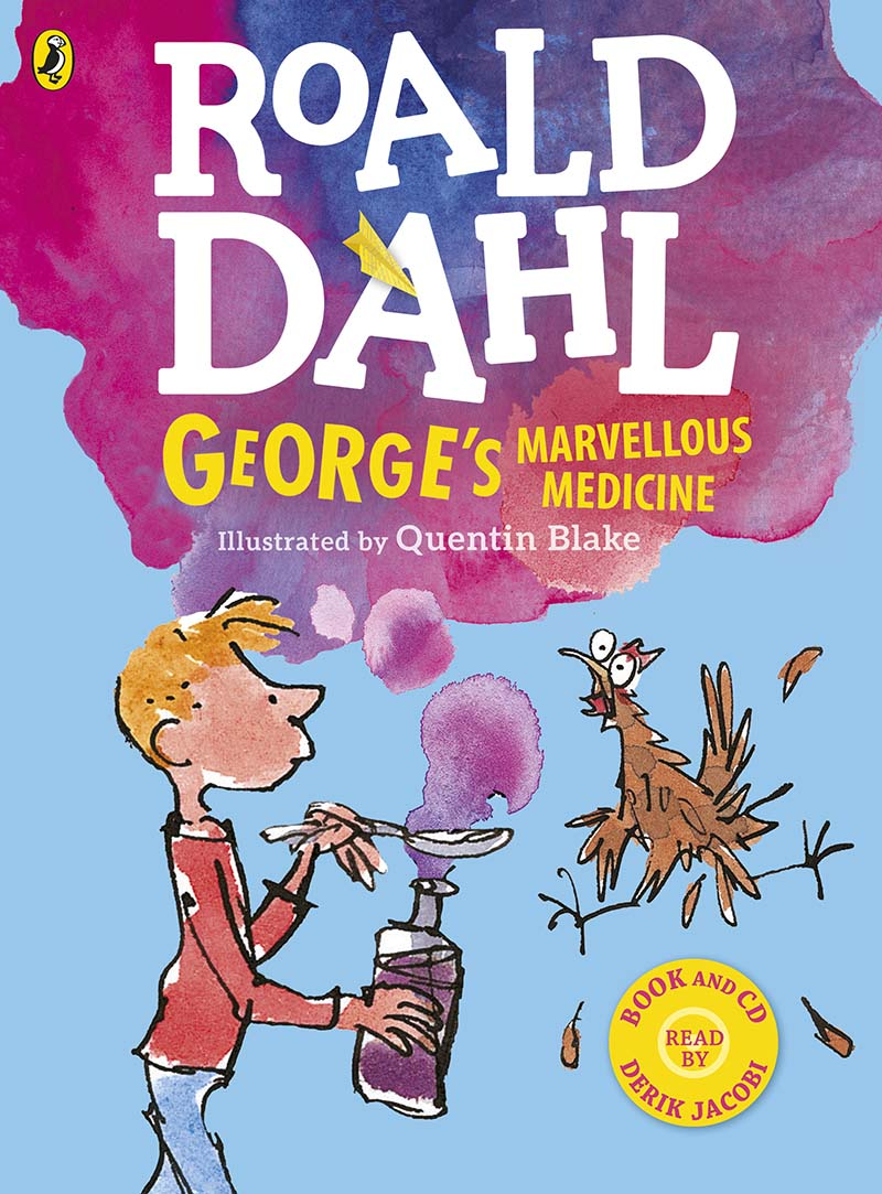 George's Marvellous Medicine (Colour book and CD) - Jacket